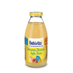 Bebivita напитка банани и праскови без глутен 4М+ 200 мл