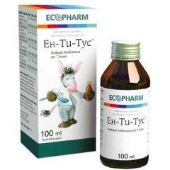 Ен-Ти-Тус Билков сироп за кашлица 100 мл Ecopharm