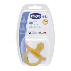 Chicco залъгалка физио софт каучук 0-6M х1 бр