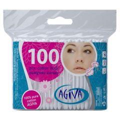 Agiva Клечки за уши пакет 100 бр