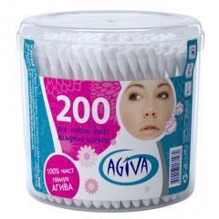 Agiva Клечки за уши кутия 200 бр