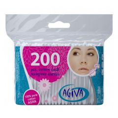 Agiva Клечки за уши пакет 200 бр