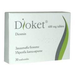 Dioket 600 мг 30 таблетки Stragen