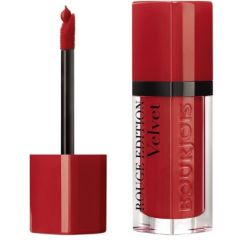 Bourjois Rouge Edition Velvet Lipstick Дълготрайно матиращо течно червило N01 Personne Ne Rouge 7,7 мл
