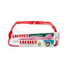 Lacalut Четка за зъби + Lacalut Детска паста за зъби над 8 години Комплект
