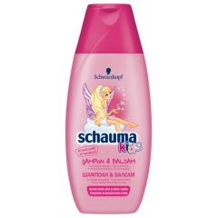 Schauma Kids Почистващ шампоан и балсам за коса за момиче 250 мл