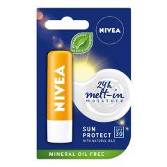 Nivea Sun Protect Слънцезащитен балсам за устни SPF30 4.8 гр
