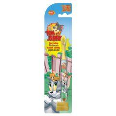 Naturaverde DISNEY Toothbrush For Children Tom&Jerry Детска четка за зъби с капаче Том и Джери