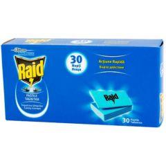 Raid Ламинирани таблетки срещу комари за електрически изпарител 30 бр SC Johnson