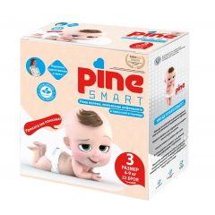 Pine Smart Умни пелени откриващи пикочни инфекции №3 4-9 кг х22 бр