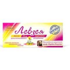 Левзея Plus+ Билков екстракт за сила и енергия 15 мг 30 таблетки Tsvetelina