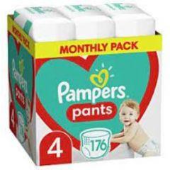 Пелени-гащички Pampers Pants Monthly Pack Размер 4 S 176 бр Procter & Gamble