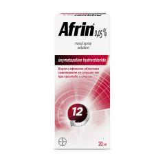 Африн спей за нос при запушен нос, настинка и алергии 0,05 % 20 мл Bayer