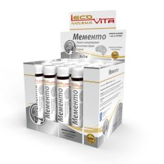 Lecovita Мементо 25 мл 20 ампули Gama Select