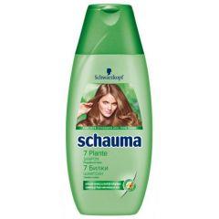 Schauma 7 Herbs Шампоан 7 билки за свежест и обем за нормална и бързо омазняваща се коса 250 мл