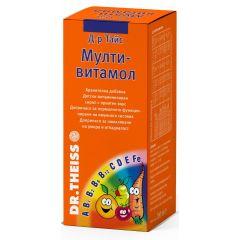 Dr. Theiss Мултивитамол Сироп за нормално функциониране на имунната система x200 мл