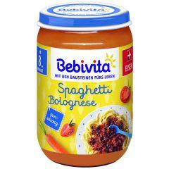 Bebivita Био пюре спагети болонезе 8М+ 220 гр