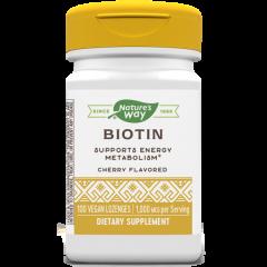 Nature's Way Biotin Биотин за здрави кожа, коса и нокти 1000 мкг 100 капсули