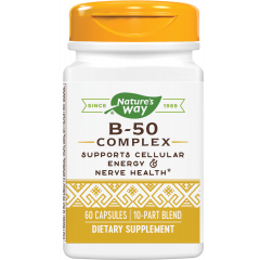 Nature's Way B-50 Complex Витамин B50 комплекс х60 капсули