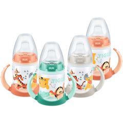 Nuk First Choice Disney Drinking Bottle шише с две дръжки силиконов накрайник дисни 6М+  150 мл
