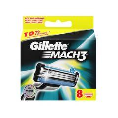 Gillette Mach 3 Резервни ножчета за самобръсначка х8 бр