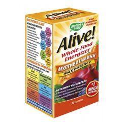 Nature's Way Alive Max Potency Алайв мултивитамини максимален ефект х30 таблетки