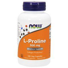 Now Foods L-Proline Л-Пролин 500 мг х 120 капсули