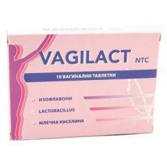 Vagilact х10 вагинални таблетки Ecopharm