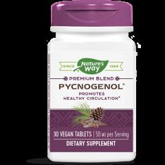 Nature's Way Pycnogenol Пикногенол за здрава сърдечно-съдова система 50 мг х30 V таблетки