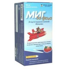 Миг За деца 20 мг/мл перорална суспензия 100 мл Berlin-Chemie