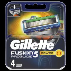 Gillette Fusion Proglide Power Резервни ножчета 4 бр