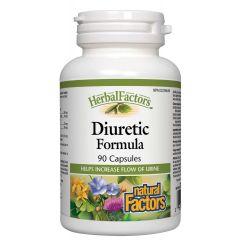 Natural Factors Diuretic Formula при задържане на течности и отоци 300 мг х 90 капсули