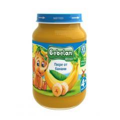 Ovko Bebelan Пюре от банани 4М+ 190 гр