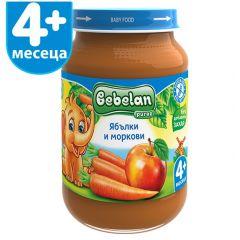 Ovko Bebelan Ябълки и моркови Пюре 4М+ 190 гр