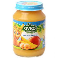 Ovko Bebelan Манго и банани Пюре 4М+ 190 гр