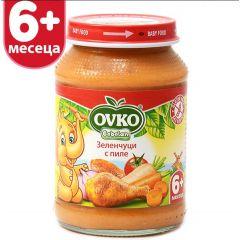 Ovko Bebelan Зеленчуци с пиле 6М+ 190 гр
