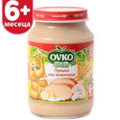 Ovko Bebelan Пуешко със зеленчуци 6М+ 190 гр