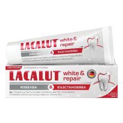 Lacalut White and Repair паста за зъби избелваща и възстановяваща 75 мл