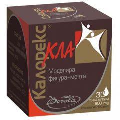 Borola Calorex Cla Калорекс Кла за моделиране на фигурата 600 мг х30 капсули