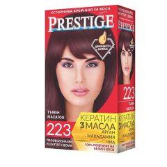 Престиж Крем боя за коса 223 Тъмен махагон