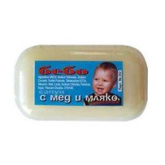 Ния Милва Тоалетен сапун Бебо с мед и мляко 60 гр