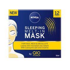 Nivea Q10 Power Нощна маска за лице против бръчки 50 мл