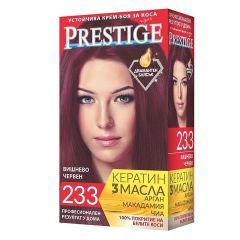 Престиж Крем боя за коса 233 Вишнево червено