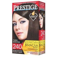 Престиж Крем боя за коса 240 Тъмен шоколад