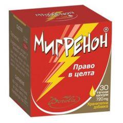 Borola Migrenon Мигренон при главоболие и ревматични болки 720 мг х30 капсули