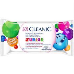 Cleanic Junior Детски мокри кърпи за ръце х15 бр