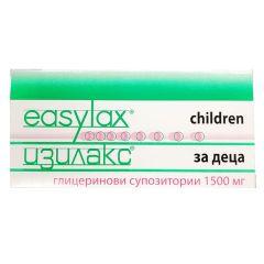 Easylax Глицеринови супозитории за деца 1500 мг х18 бр