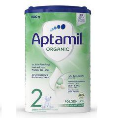 Aptamil Organic 2 Био преходно мляко за кърмачета 6-12M 800 гр