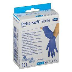 Peha-soft Еднократни нитрилни ръкавици без латекс Размер S 10 бр Hartmann
