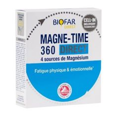 Biofar Magne Time 360 Direct при физическа и емоционална умора х14 сашета